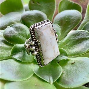 Buffalo Turquoise Vintage Navajo Ring